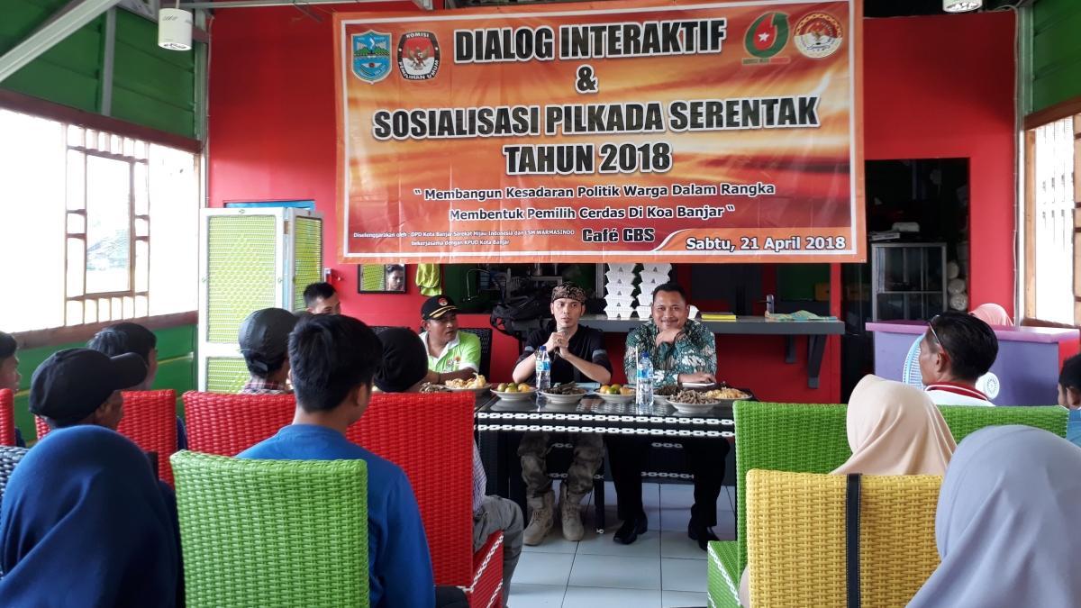 DIALOG INTERAKTIF KPU BERSAMA SAREKAT HIJAU INDONESIA DAN WARMASINDO