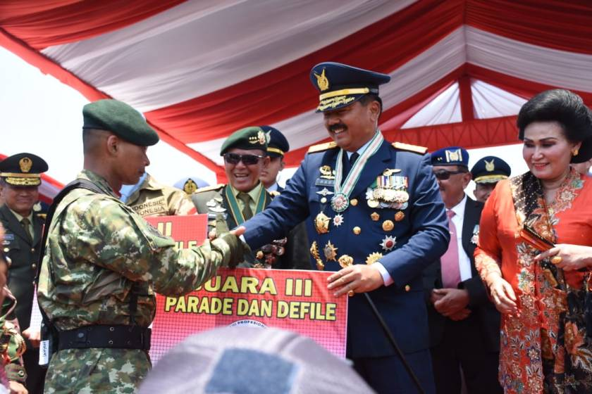 HUT TNI DI DKI (2)